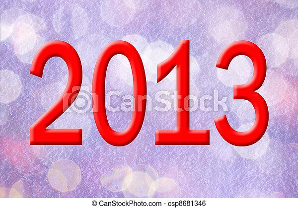 new year background - csp8681346