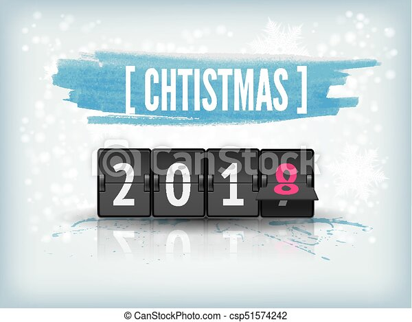 new year countdown vector banner