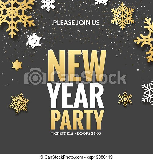 Download New Year Party Invitation