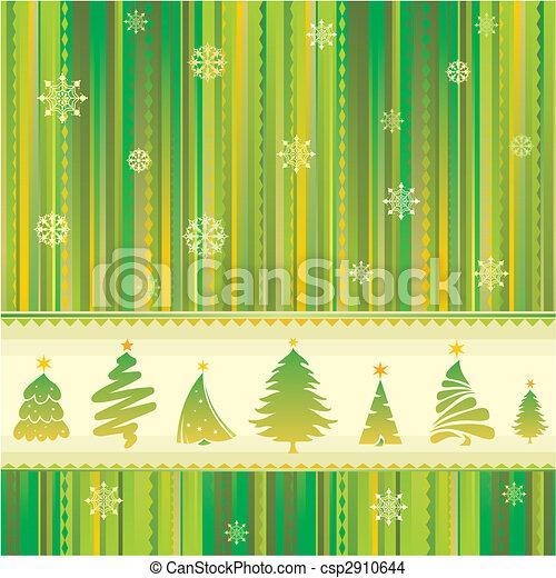 New Year seamless background  - csp2910644