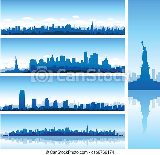 new york background - csp6766174