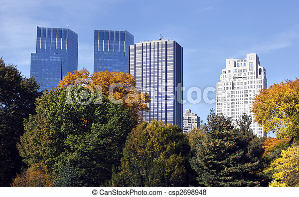 New York City buildings - csp2698948