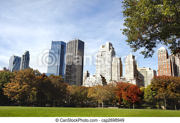 New York City buildings - csp2698949