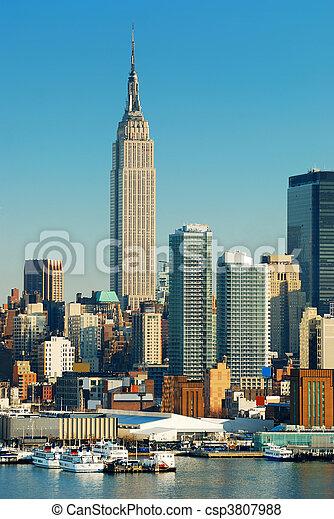 NEW YORK CITY EMPIRE STATE BUILDING - csp3807988