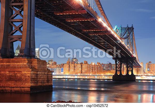 New York City Manhattan Bridge - csp10452572