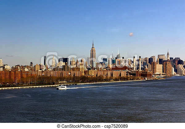 New York City Midtown from afar - csp7520089