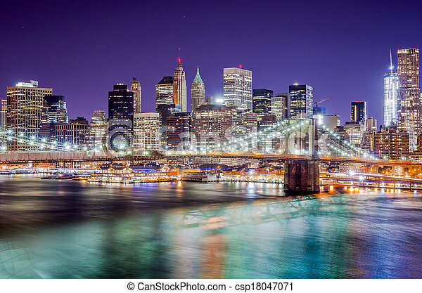 New York City - csp18047071