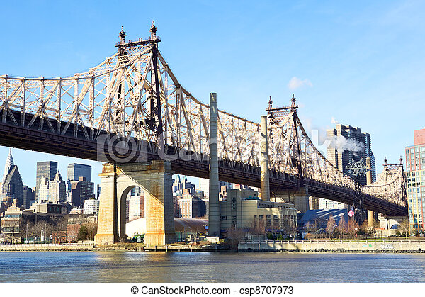 New York City Queensboro Bridge - csp8707973