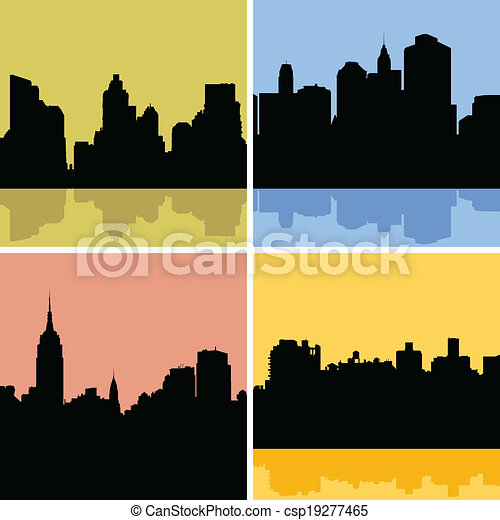 New York City Skyline - csp19277465