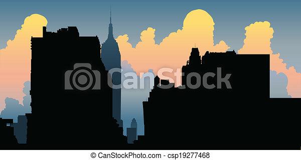 New York City Skyline - csp19277468