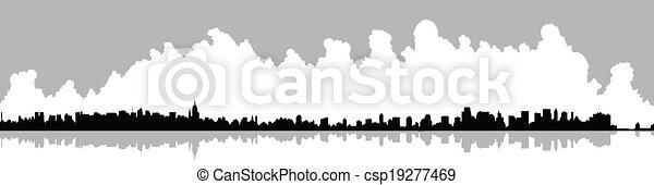 New York City Skyline - csp19277469