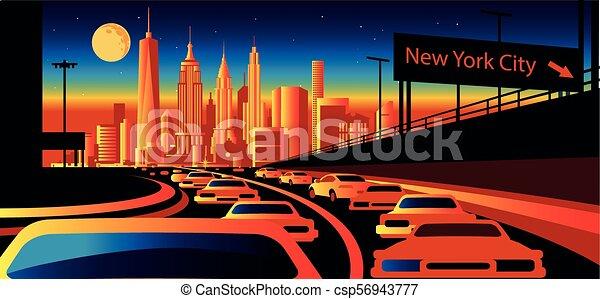 New York City Skyline - csp56943777