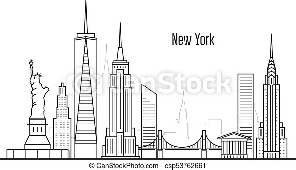Line Drawings Of New York City Wiring Diagrams