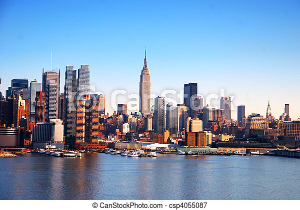 NEW YORK CITY SKYLINE - csp4055087