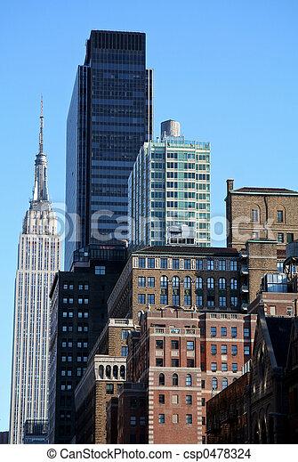 New York City Skyline - csp0478324