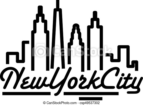 New York City skyline - csp49537302