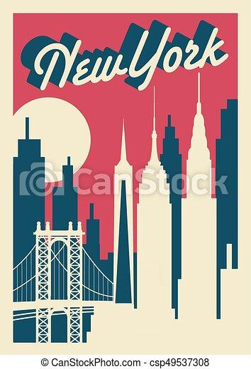 New York City skyline - csp49537308