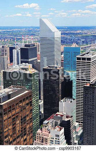 New York City skyscrapers - csp9903167