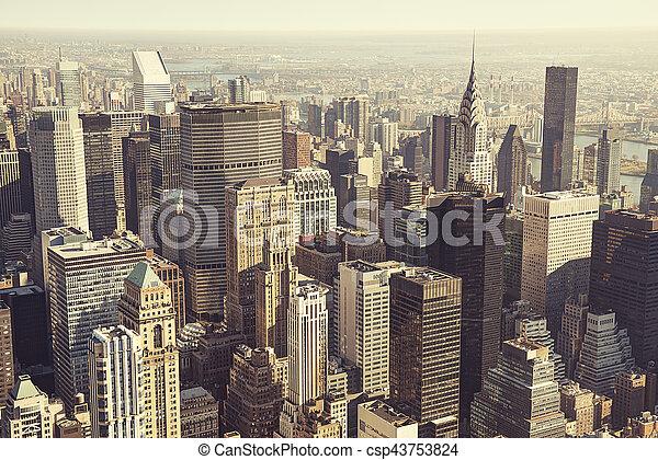 New York city - csp43753824