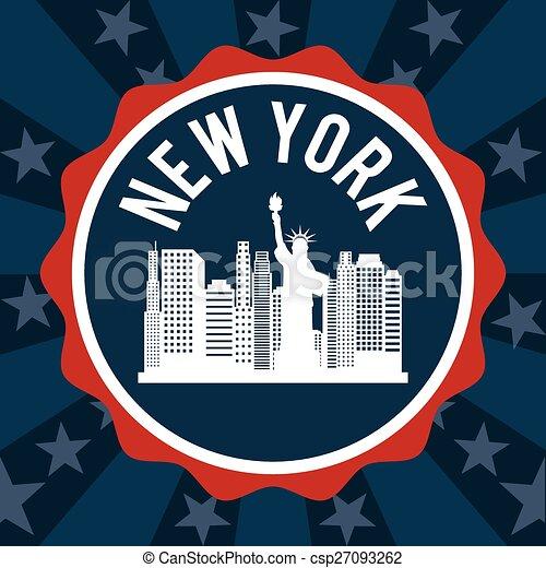 new york  - csp27093262