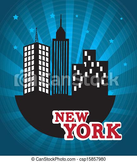 new york  - csp15857980