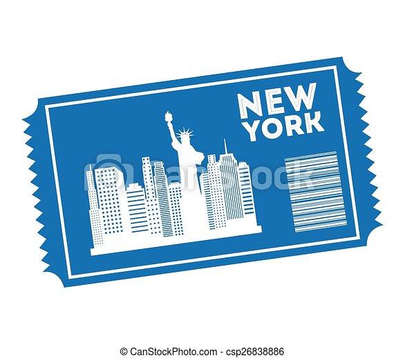new york  - csp26838886