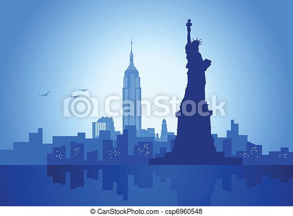 New York - csp6960548