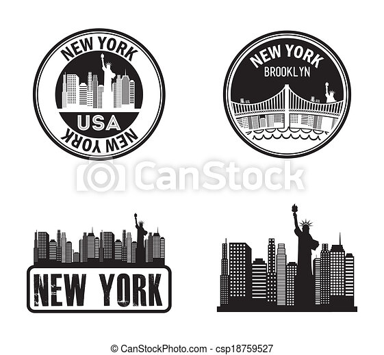 New York - csp18759527