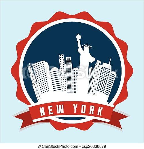 new york  - csp26838879