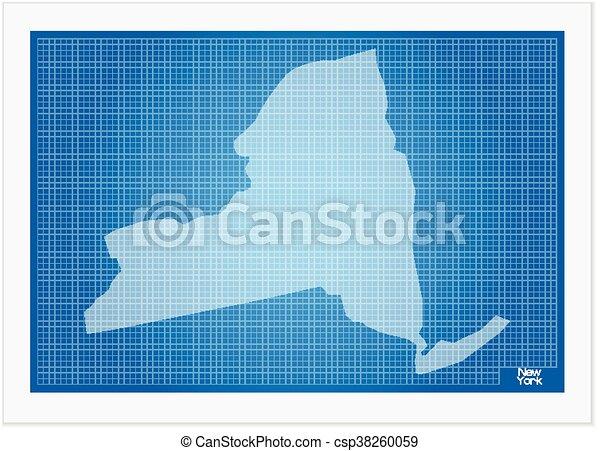 New york on blueprint on a white background clipart vector search new york on blueprint csp38260059 malvernweather Choice Image