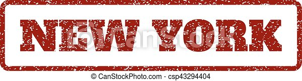New York Rubber Stamp - csp43294404