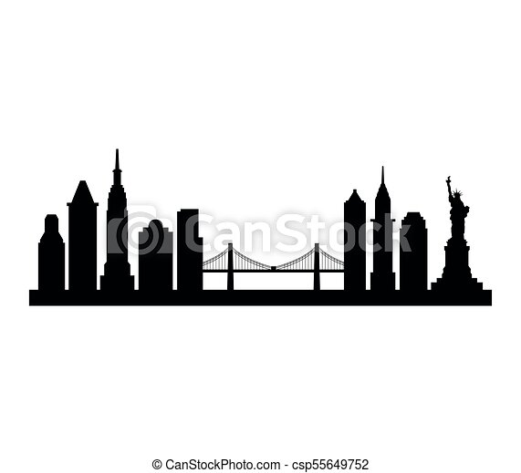 new york skyline clipart vector search illustration drawings and rh canstockphoto ca new york skyline clipart new york skyline at night clipart