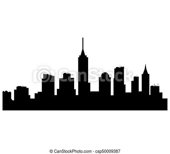 new york skyline vector search clip art illustration drawings rh canstockphoto com new york skyline silhouette vector free new york city skyline vector free