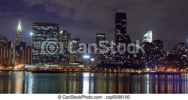 new york skyline - csp0598100