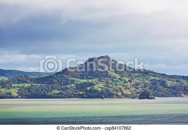 New Zealand hills - csp84107862