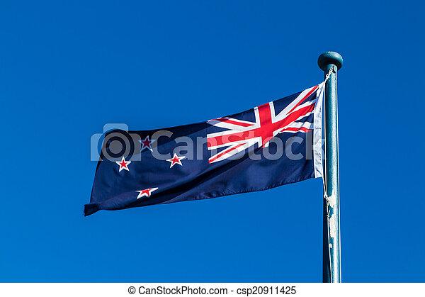 New Zealnd Flag - csp20911425