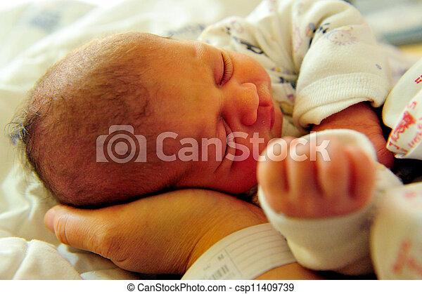 Newborn Baby  - csp11409739