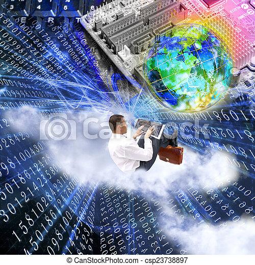 newest, tecnologia, internet - csp23738897