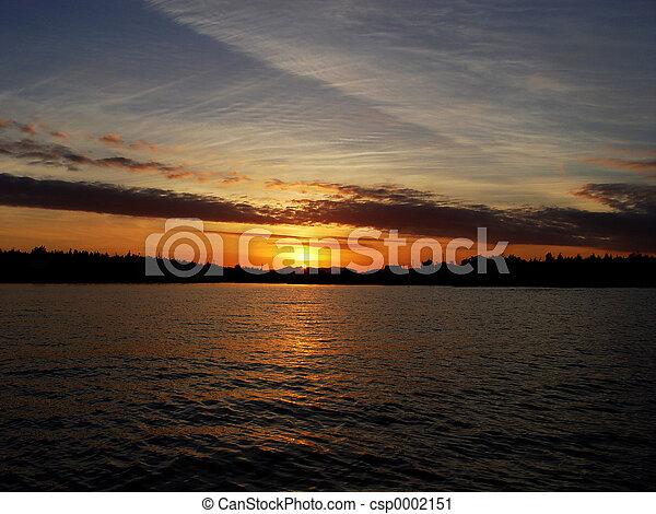 Newfoundland Sunset - csp0002151