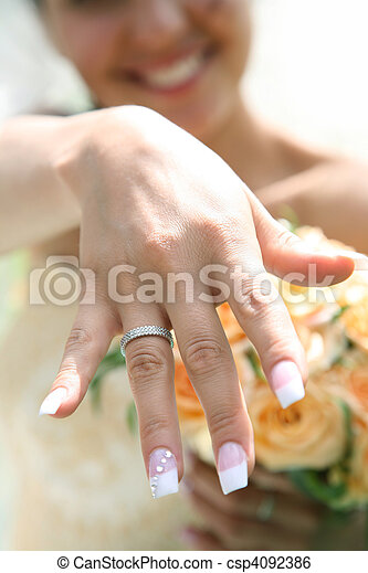newlywed - csp4092386