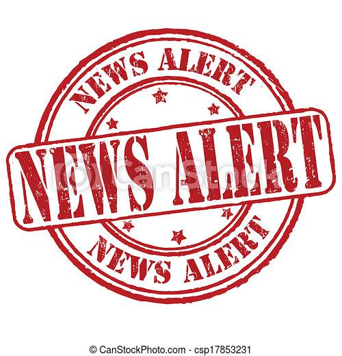 News alert stamp - csp17853231