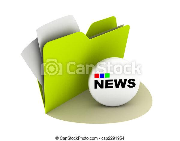 news button - csp2291954
