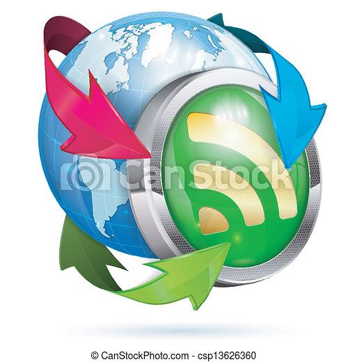 News Concept - csp13626360