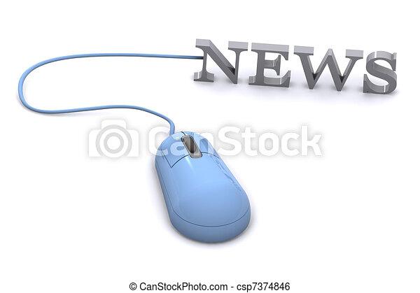 News Concept - csp7374846