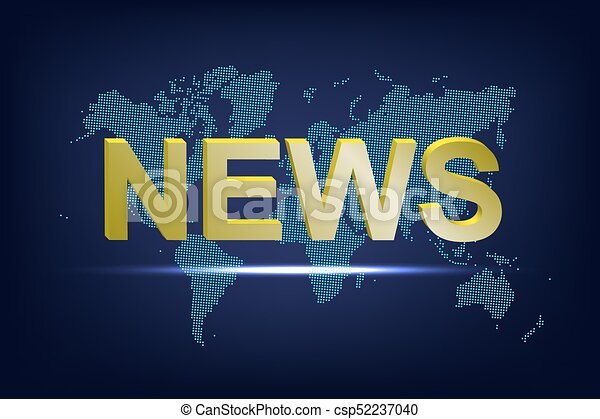 News word on dotted world map background vector eps vector news word on dotted world map background vector illustration gumiabroncs Image collections