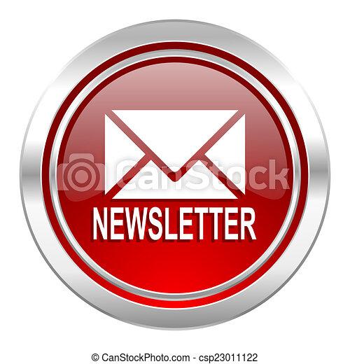 newsletter icon - csp23011122
