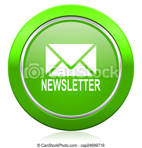 newsletter icon - csp24699716