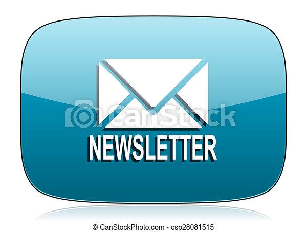 newsletter icon - csp28081515