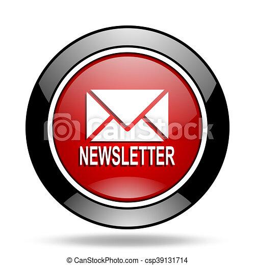 newsletter icon - csp39131714