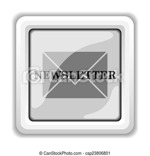 Newsletter icon - csp23806801